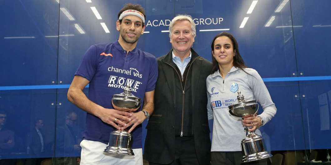 Image result for picture of 2018/19 Professional Squash Association World Championships