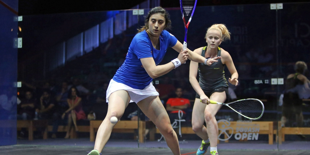el gouna  el sherbini and sobhy to meet in second round