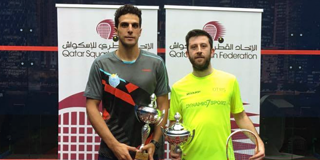 Selby Beats Mosaad to Lift QSF No.1 Title - Professional Squash Association