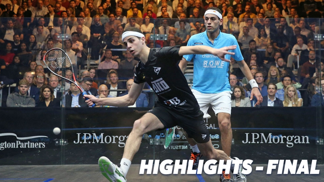 Farag and El Sherbini Capture J P  Morgan Tournament of Champions