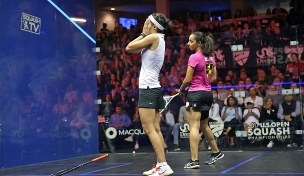 Egyptian couple Farag and El Tayeb make squash history at US Open
