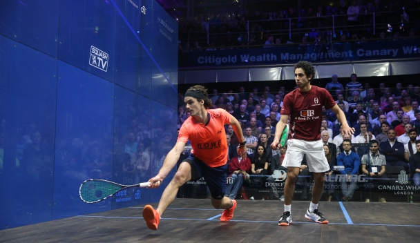 Momen Confident of Shaking Off Injury Ahead of Grasshopper Cup - Professional Squash Association