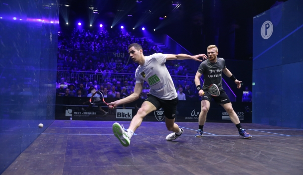 Farag Excited at Prospect of DPD Open - Professional Squash Association