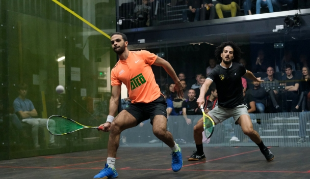 Channel VAS: Top Seed ElShorbagy Survives Ghosal Scare to Reach Semi-Finals - Professional Squash Association